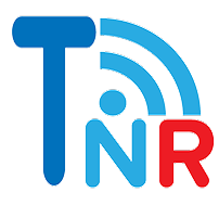 Talk Network Radio TNR logo with broadcast signals